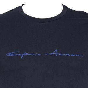T-shirt con logo corsivo