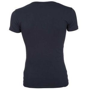T-shirt con scollo a V slim