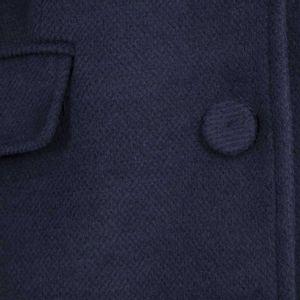 Viscose blend cloth coat
