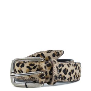 Animalier leather belt