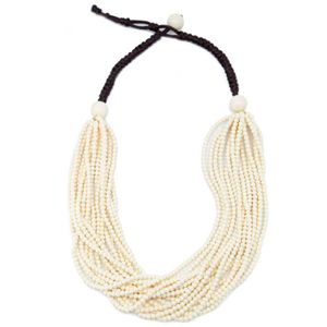 Cellula beaded necklace