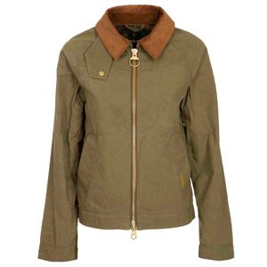 Campbell green cotton jacket
