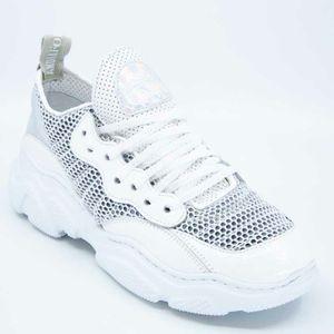 White Energy Plis sneakers