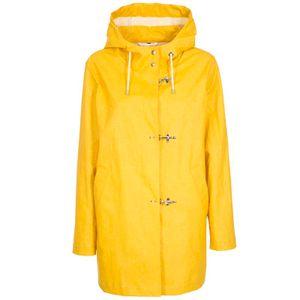Light yellow jacket with hood