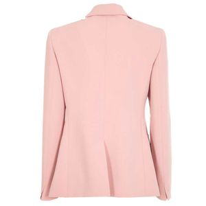 Glassa single button cady jacket