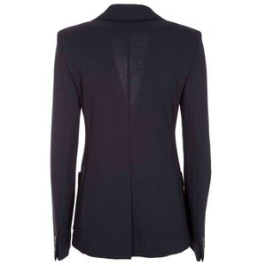 Santina blue viscose jersey jacket