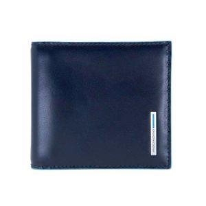 Portafoglio in pelle con molla porta banconote