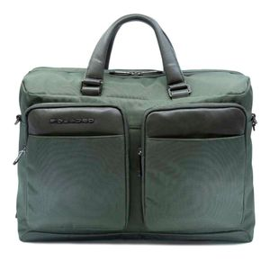Two-handle laptop briefcase