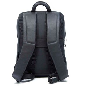 Backpack for pc and tablet with hammered effect