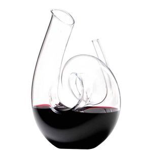 Decanter Curly Clear in cristallo