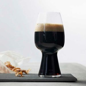 Set of 4 Stout glasses in glass