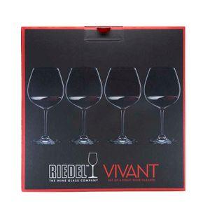 Set of 4 Pinot Noir glasses