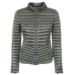 2141R glossy slim fit down jacket