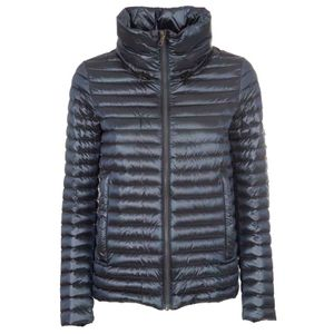 Down jacket with drawstring on the back 2113