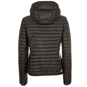 Slim fit opaque down jacket with hood 2224R