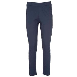 Cotton poplin trousers with pockets