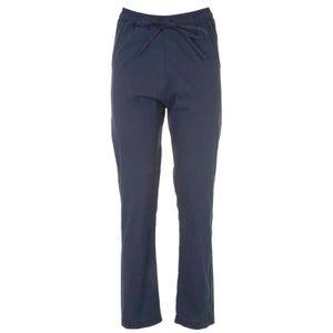 Pantalone jogger in popeline di cotone