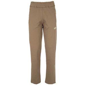 Pantaloni in felpa verde militare