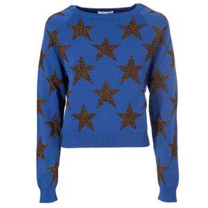 Viscose sweater with stars