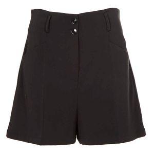 Black shorts in stretch fabric