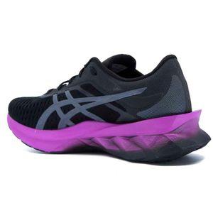 Novablast black running shoe
