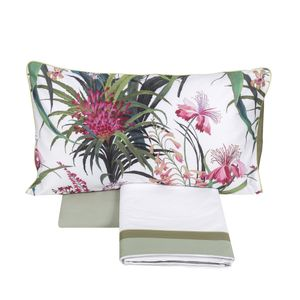 Hibiscus duvet cover set