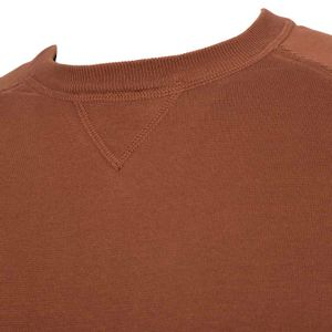 Oversized sweater in light cotton