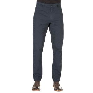 Cotton trousers with adjustable waist