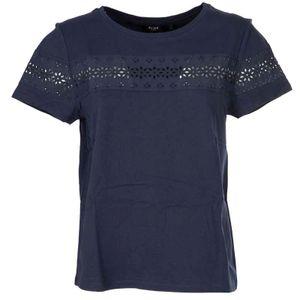 T-Shirt con fascia ricamata Cannes