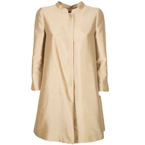 Cotton and silk coat