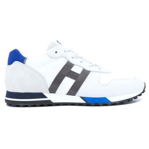 Shoe H383 H White ribbon