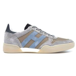 Shoe H357 Gray laced