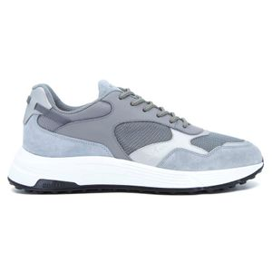 Hyperlight laced gray shoe