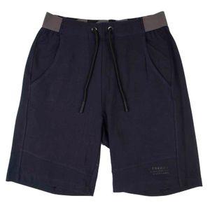 Pantalone corto con logo sul fondo