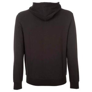 Lightweight sweatshirt with zip and tape