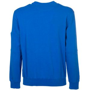 Crewneck sweatshirt with sleeve pocket
