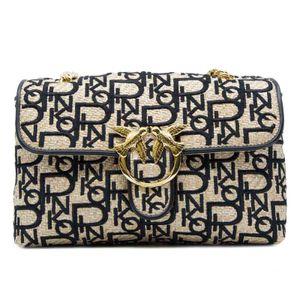 Love Bag in embroidered raffia
