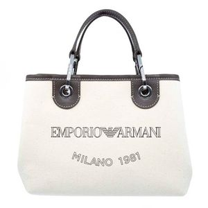 Small canvas bag with logo