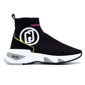 Sock sneakers with logo