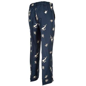 Sansa printed silk trousers