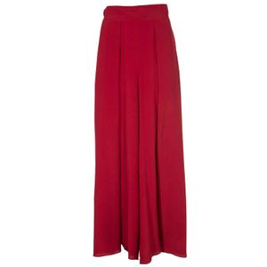 Wide trousers in Nerbo silk blend