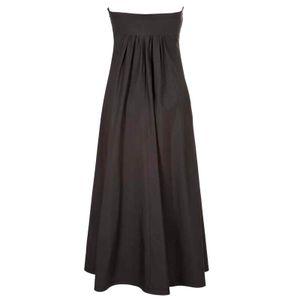 Visit strapless dress