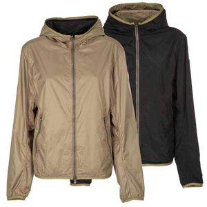 Reversible jacket with hood 1842