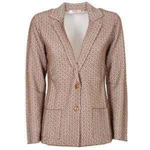 Jacquard viscose jacket