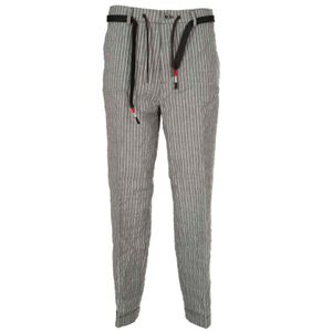 New York Easy striped trousers