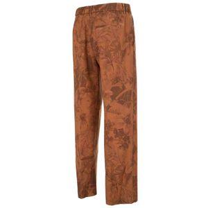 Brown trousers in light virgin wool