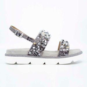 Python sandal with studs