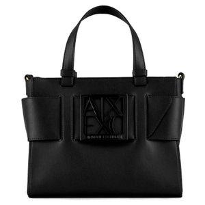 Mini bag with shiny logo