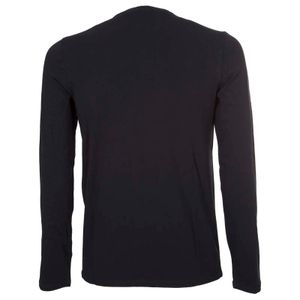 Jersey sweater with mini logo
