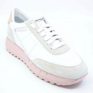 Vintage-D leather sneakers